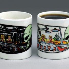 Alien Abduction Coffee Mug - Free UPS ground ship!