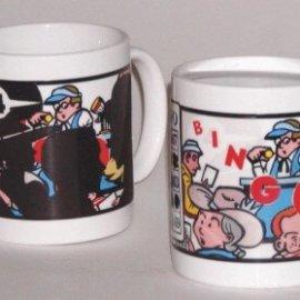 Bingo Coffee Mug - Free ground ship!