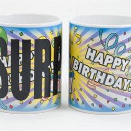 Birthday color changing coffee mug - New!
