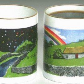 Emerald Isle Rainbow Coffee Mug