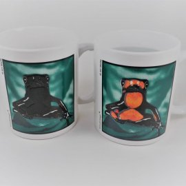Poison Arrow Frog Coffee Mug
