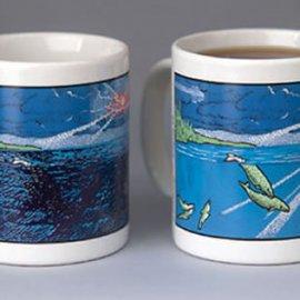 Northwest Pacific Whales Coffee Mug