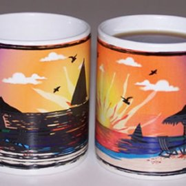 Summer Sunset II Color Changing coffee mug