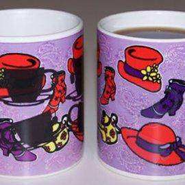 Tea Time Color Changing coffee mug
